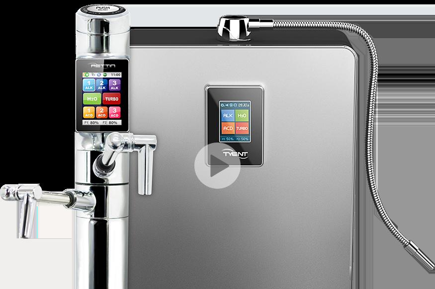 under counter water ionizer
